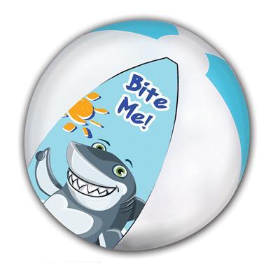Εικόνα της Gim - Μπάλα Θαλάσσης Shark 45cm 874-02130