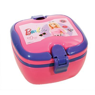 Εικόνα της Gim - Δοχείο Φαγητού με Λαβές Barbie Shine (micro) 571-16266
