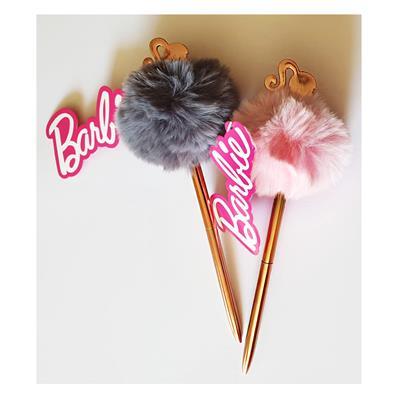 Εικόνα της Gim - Barbie Στυλό με Πομ-Πομ Ροζ 349-61645-1