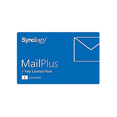 Εικόνα της Synology MailPlus 5 Licences Pack MAILPLUS/05LIC
