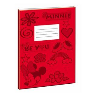 Εικόνα της Gim - Minnie Τετράδιο Κόκκινο 17x25cm 340-52400-2