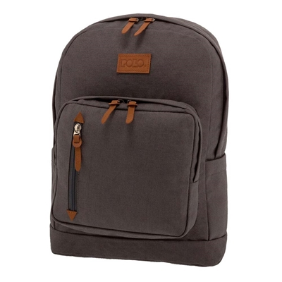 Εικόνα της Polo - Τσάντα Πλάτης Bole Γκρι-Καφέ 2020 9-01-243-09