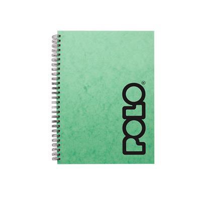 Εικόνα της Polo - Τετράδιο Spiral Πράσινο B5 3 Θέματα 9-19-082-Light Green