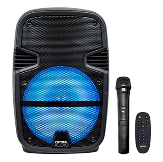 Εικόνα της Crystal Audio Portable Party Speaker Bluetooth PRT-12