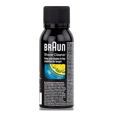 Εικόνα της Braun Shaver Cleaning Spray Lemonfresh Formula 100ml 4210201213475