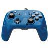 Εικόνα της Wired Controller PDP FaceOff Deluxe+ Blue Camo Nintendo Switch 500-134-EU-CM02