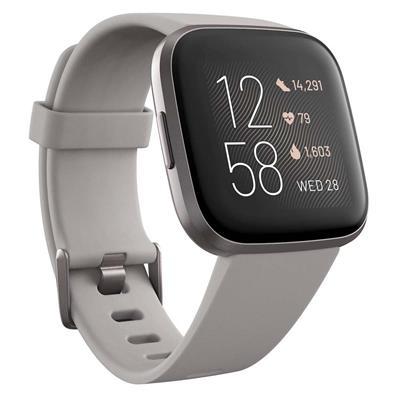 Εικόνα της Smartwatch Fitbit Versa 2 (NFC) Stone - Mist Grey Aluminum FB507GYSR