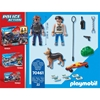 Εικόνα της Playmobil Police Action - Κλέφτης Και Αστυνόμος 70461