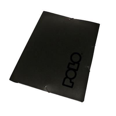 Εικόνα της Polo - Φάκελος με Λάστιχο Μαύρο 9-19-052-Black