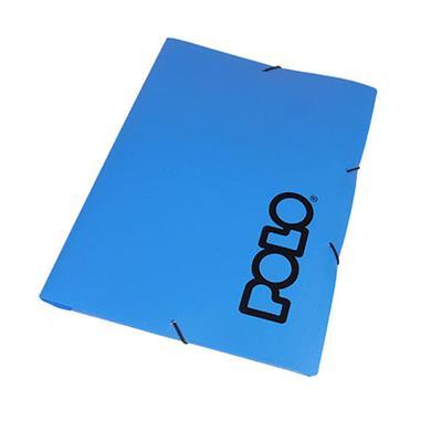 Εικόνα της Polo - Φάκελος με Λάστιχο Μπλε 9-19-052-Blue