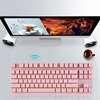 Εικόνα της Wireless Gaming Πληκτρολόγιο Motospeed GK82 Mechanical - Red Switches - Pink GR