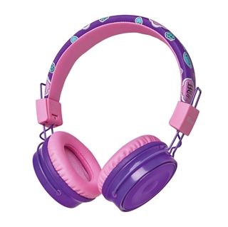 Εικόνα της Wireless Kids Headphones Trust Comi Bluetooth Purple 23608