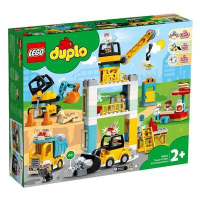 Εικόνα της Lego Duplo: Πυργογερανός Και Οικοδομή 10933