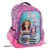 Εικόνα της Gim - Τσάντα Δημοτικού Οβάλ Barbie Beauty 349-67031