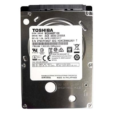 Εικόνα της Εσωτερικός Σκληρός Δίσκος Toshiba MQ04AB Client 2.5'' Sata III 1TB MQ04ABF100
