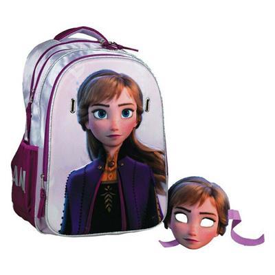 Εικόνα της Gim - Τσάντα Δημοτικού Οβάλ Anna Frozen 2 341-65031