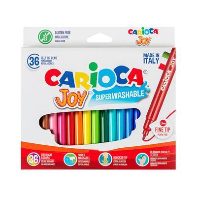 Εικόνα της Carioca - Μαρκαδόροι Joy 2.6mm Σετ. 36 Χρώματα 40616