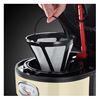 Εικόνα της Καφετιέρα Φίλτρου Russell Hobbs 21702-56 Retro Vintage Cream