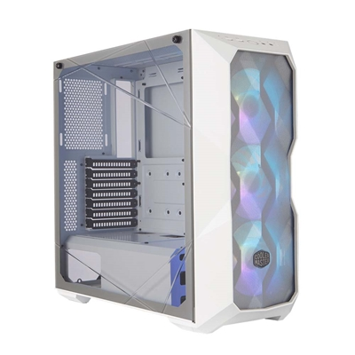 Εικόνα της CoolerMaster Masterbox TD500 Mesh White Tempered Glass MCB-D500D-WGNN-S01
