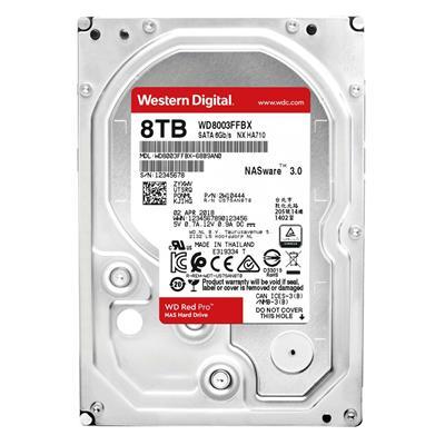 """Εικόνα της Εσωτερικός Σκληρός Δίσκος NAS Western Digital Red Pro 8TB 3.5"""" SATA ΙΙΙ 256MB 7200rpm WD8003FFBX"""