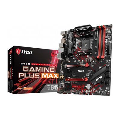Εικόνα της Motherboard MSI B450 Gaming Plus Max (AM4) 7B86-016R