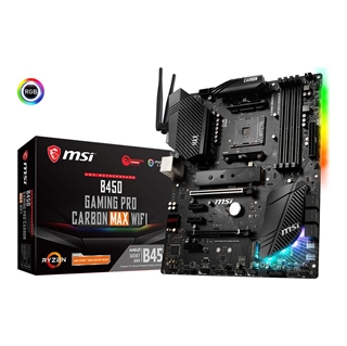 Εικόνα της Motherboard MSI B450 Gaming Pro Carbon Max WiFi (AM4) 7B85-011R