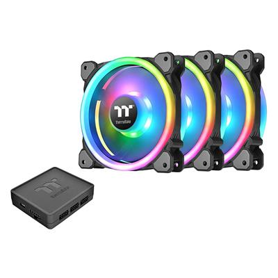Εικόνα της Case Fan Thermaltake Riing Trio 120mm RGB Premium Edition (3-pack) CL-F072-PL12SW-A