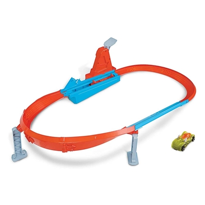 Εικόνα της Mattel Hot Wheels Σετ Παιχνιδιού Αγωνιστικές Πίστες - Rapid Raceway Champion GBF81-GJM75