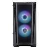 Εικόνα της CoolerMaster MasterBox MB311L ARGB Tempered Glass MCB-B311L-KGNN-S01