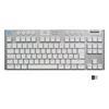 Εικόνα της Πληκτρολόγιο Logitech G915 LightSpeed RGB Wireless TKL GL Tactile White (US) 920-009664