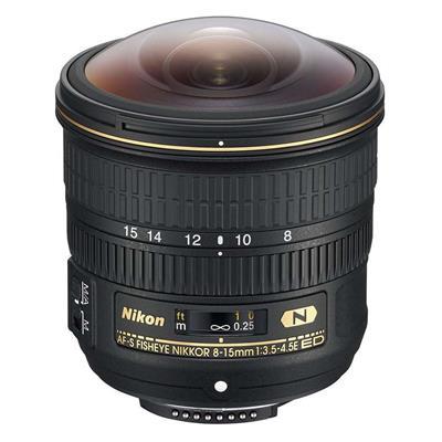 Εικόνα της Φακός Nikon AF-S Fisheye Nikkor 8-15mm f/3.5-4.5E ED