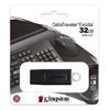 Εικόνα της Kingston DataTraveler Exodia 32GB USB 3.2 Flash Drive Black-White DTX/32GB