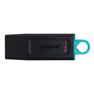 Εικόνα της Kingston DataTraveler Exodia 64GB USB 3.2 Flash Drive Black-Teal DTX/64GB