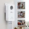 Εικόνα της Powerline Tp-Link TL-WPA8631P Kit v3 AV1300 Gigabit Passthrough Starter Wi-Fi Kit