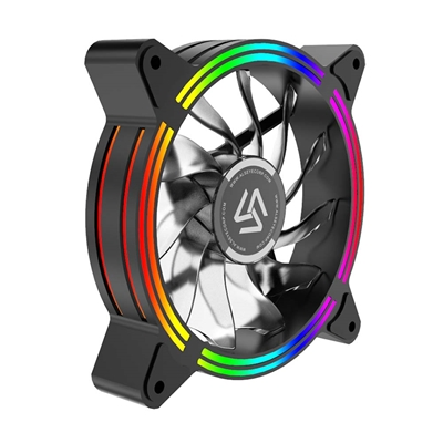 Εικόνα της Case Cooler Alseye HALO 4.0 12cm RGB-Fan x5 kit