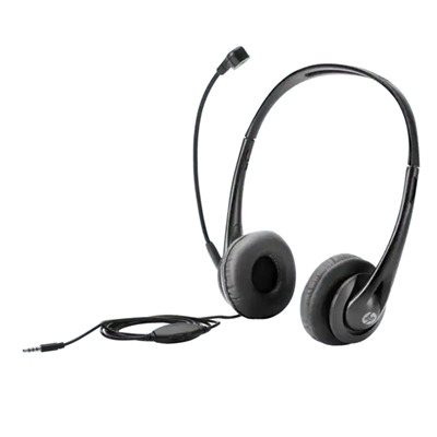 Εικόνα της Headset HP Stereo 3.5mm Black T1A66AA