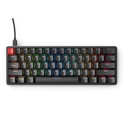 Εικόνα της Πληκτρολόγιο Glorious PC Gaming Race The GMMK Compact Gateron Brown Switches (US) GMMK-COMPACT-BRN