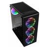 Εικόνα της Kolink Observatory Lite Mesh RGB Tempered Glass Black GEKL-066