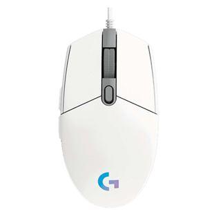 Εικόνα της Ποντίκι Gaming Logitech G102 LightSync RGB White 910-005824