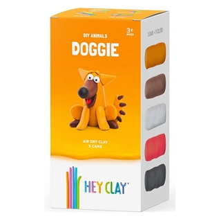 Εικόνα της Claymates Doggie - Colorful Kids Modeling Air-Dry Clay, 5 Cans MAE004