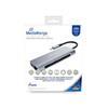 Εικόνα της USB Hub MediaRange USB Type-C 7-in-1 multiport Silver MRCS510