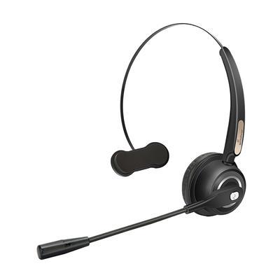 Εικόνα της Headset MediaRange Wireless Mono with Microphone 180mAh Battery Black MROS305