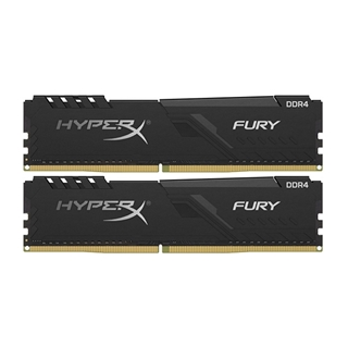 Εικόνα της Ram HyperX Fury 32GB (2x16GB) DDR4-3200MHz CL16 Black HX432C16FB4K2/32