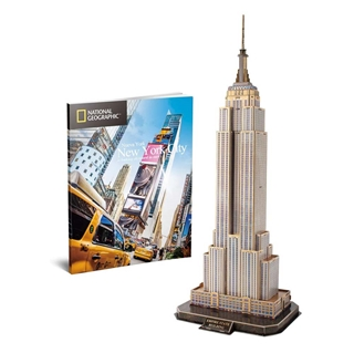Εικόνα της Cubic Fun - 3D Puzzle National Geographic, Empire State Building 66pcs DS0977h