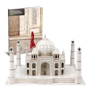 Εικόνα της Cubic Fun - 3D Puzzle National Geographic, Taj Mahal 87pcs DS0981h