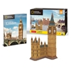 Εικόνα της Cubic Fun - 3D Puzzle National Geographic, Big Ben DS0992h