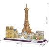 Εικόνα της Cubic Fun - 3D Puzzle City Line Paris 114pcs MC254h