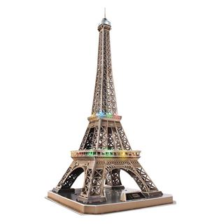 Εικόνα της Cubic Fun - 3D Led Puzzle Eiffel Tower 84pcs L091h