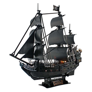 Εικόνα της Cubic Fun - 3D Led Puzzle Queens Anne's Revenge 340pcs L520h