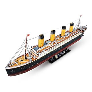 Εικόνα της Cubic Fun - 3D Led Puzzle Titanic 266pcs L521h